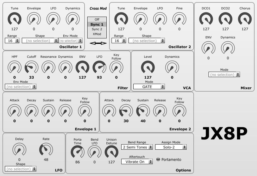 Roland – JX8P