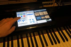 Pianoteq Touch Panel