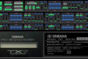 Yamaha TX7 v1.01 panel
