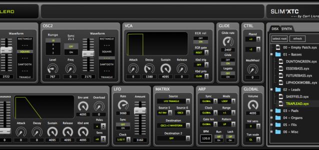 160408 - SLIMXTC Editor screenshot