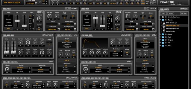 2016.04.06 - POWER08 Editor screenshot