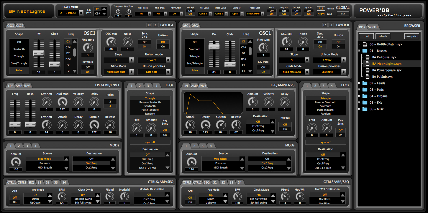 POWER'08 V.3 – Editor for DSI Prophet'08