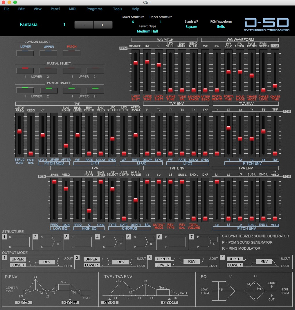 Roland D50 editor