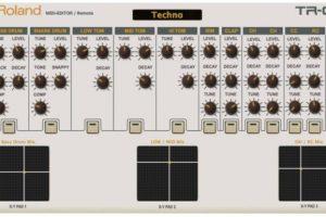 Roland TR-09  Midi Editor Controller
