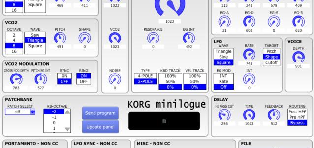 korg-minilogue