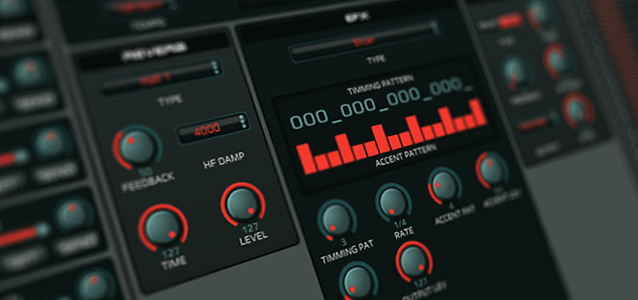 GrooveBox Editor for Roland MC-505, MC-307, JX-305 and D2