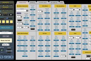 Roland JD-990 Super Editor