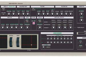 """Korg MicroKorg """"MIDI EDITOR / REMOTE""""/ CONTROLLER"""