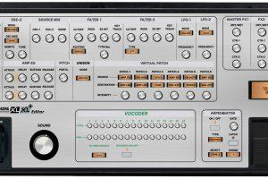 "Korg MicroKorg XL and XL+ ""MIDI EDITOR / REMOTE""/ CONTROLLER"