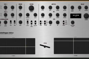 """Korg MiniLogue """"MIDI EDITOR / REMOTE""""/ CONTROLLER"""