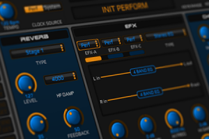 JV-XP Editor for Roland JV1080, JV2080, JV1010, XP30, XP50, XP60 and XP80 series synthesizers