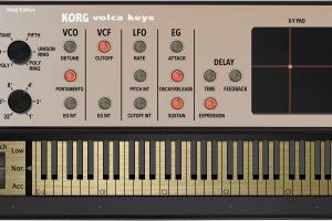 Korg Volca Keys Midi Editor Controller — VST / Standalone