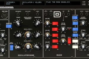 Behringer Model D patch saver