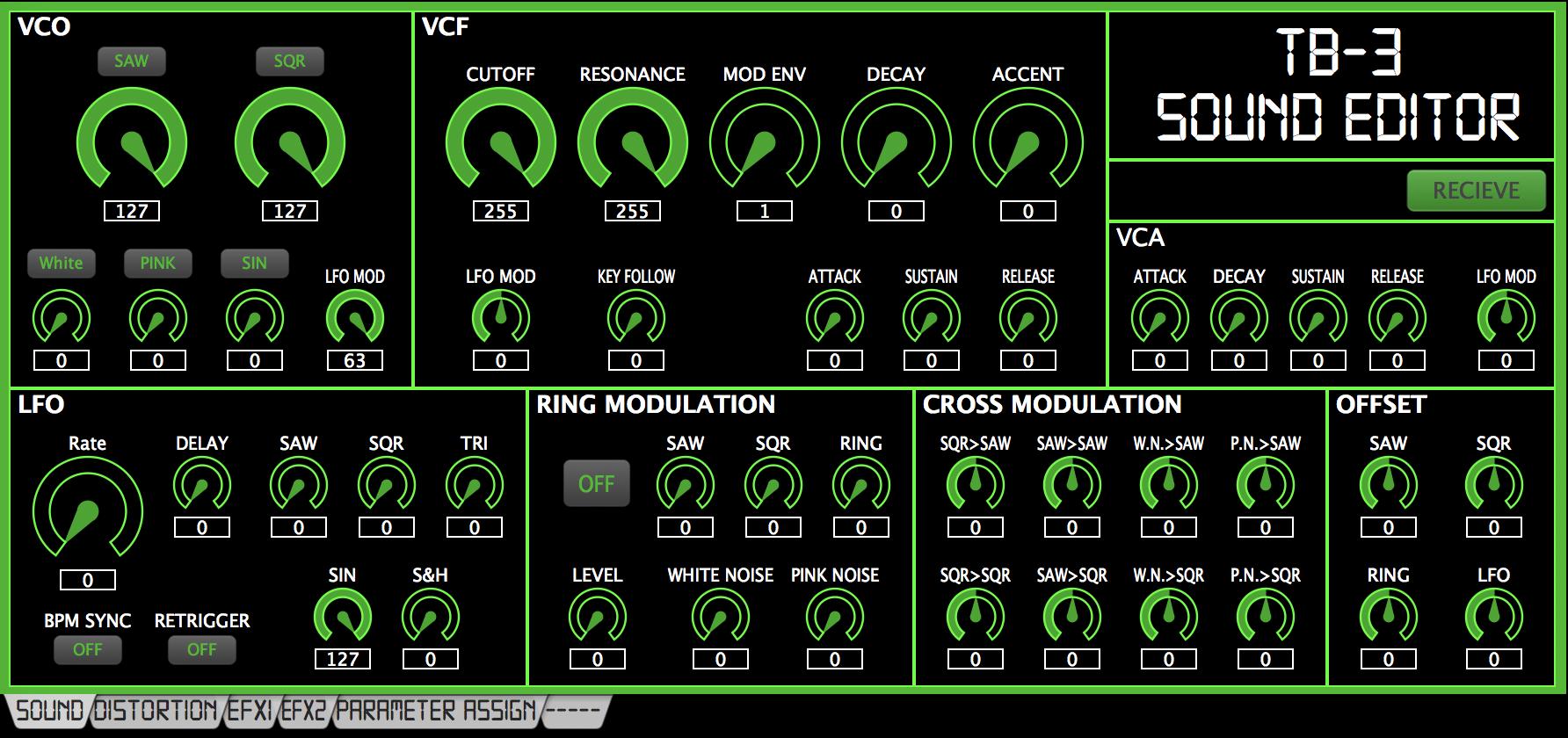 Roland TB-3 Editor v1.4.1
