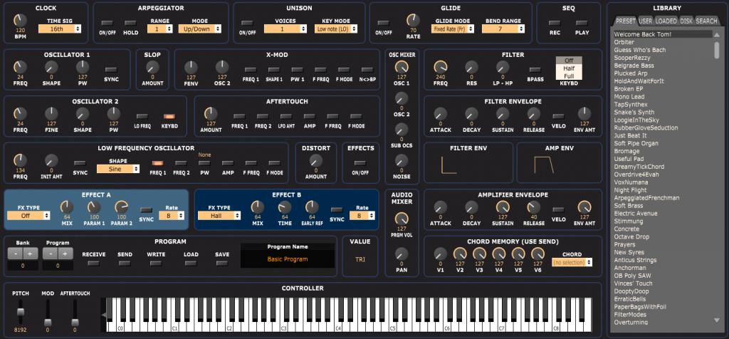 Ctrlr – Control your MIDI life (MIDI editor for all your hardware)