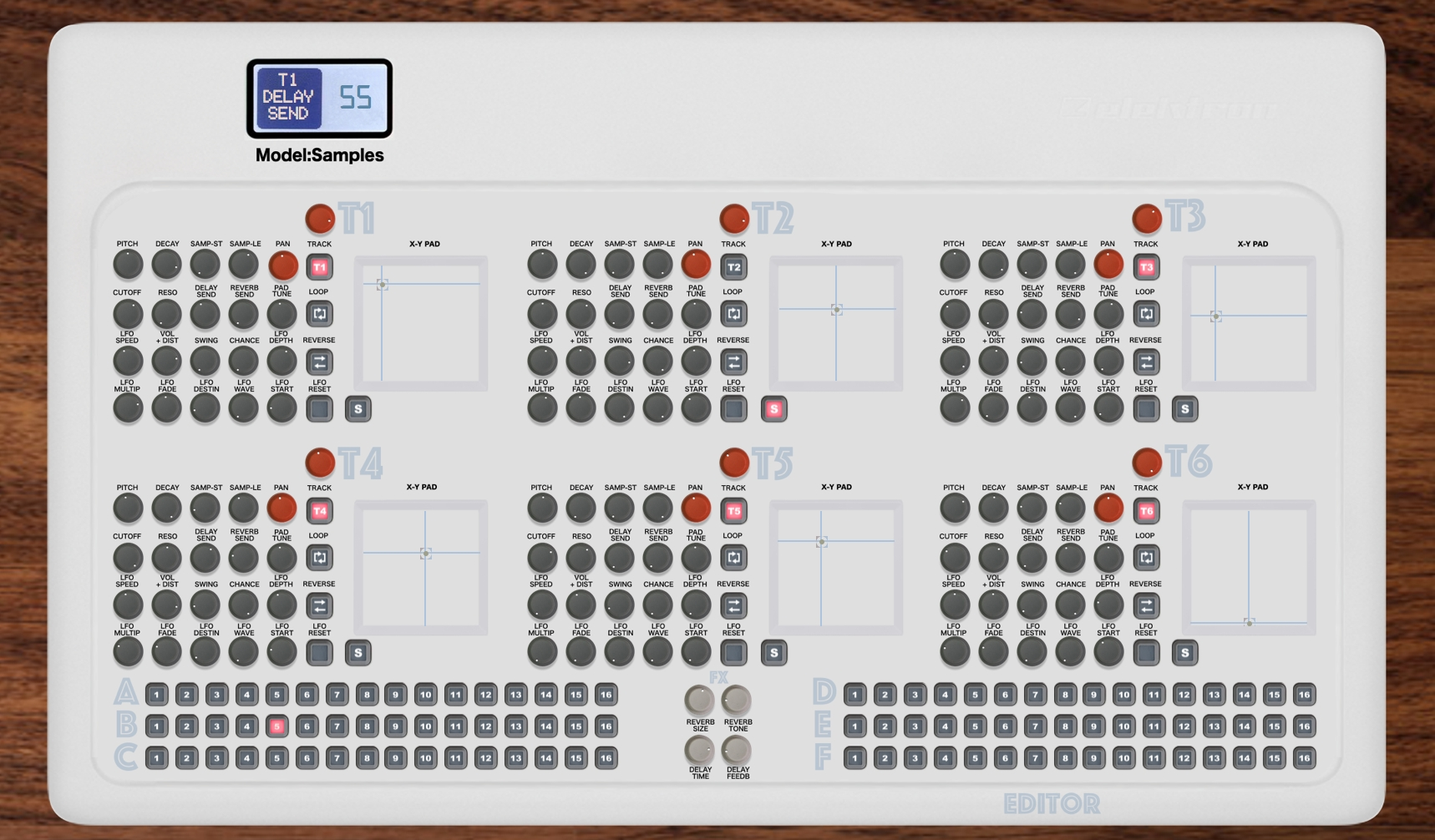 Elektron Model Samples Editor Controller, VST and Standalone