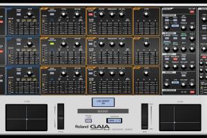 Roland GAIA SH-01 Sound Editor and midi Controller, VST and Standalone