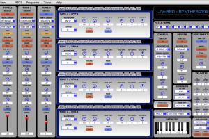 JV PatchEd. – Roland JV-880 Patch Editor