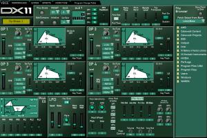 Yamaha DX11 Editor