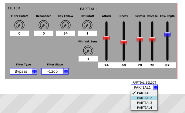 example panel for Roland FA06