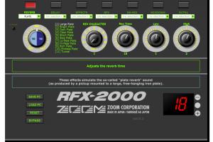 Zoom RFX-2000 Editor