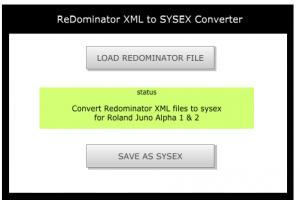 ReDominator XML Converter