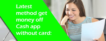 How to get money off Cash App without card