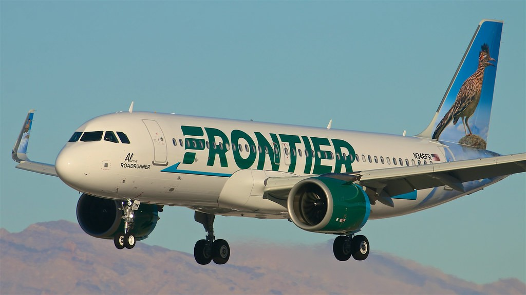 Frontier Airlines book a flight