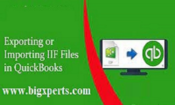 Import IIF File into QuickBooks