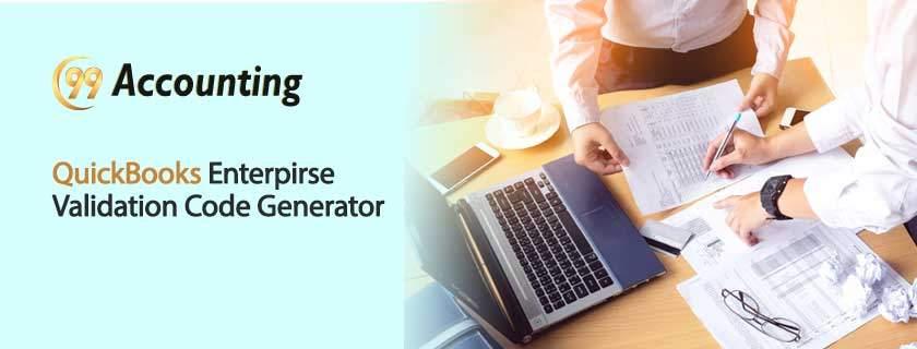 QuickBooks-Enterpirse-Validation-Code-Generator