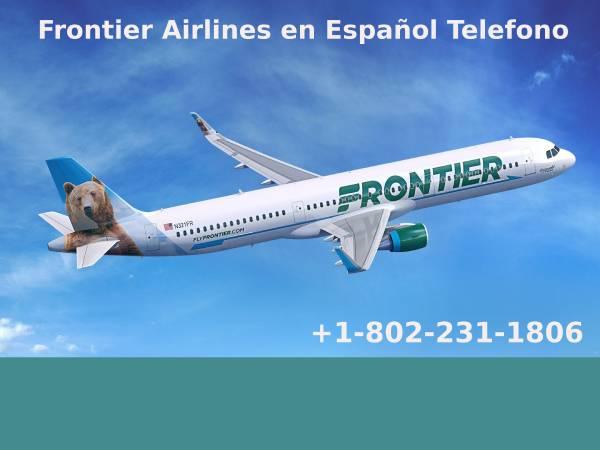 Frontier airlines en español