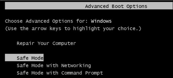 Run-Windows-in-Safe-Mode-