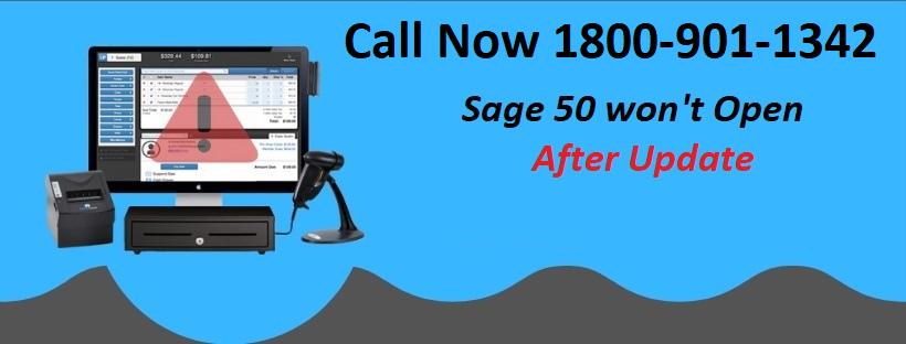 Sage 50 won't Open after Update