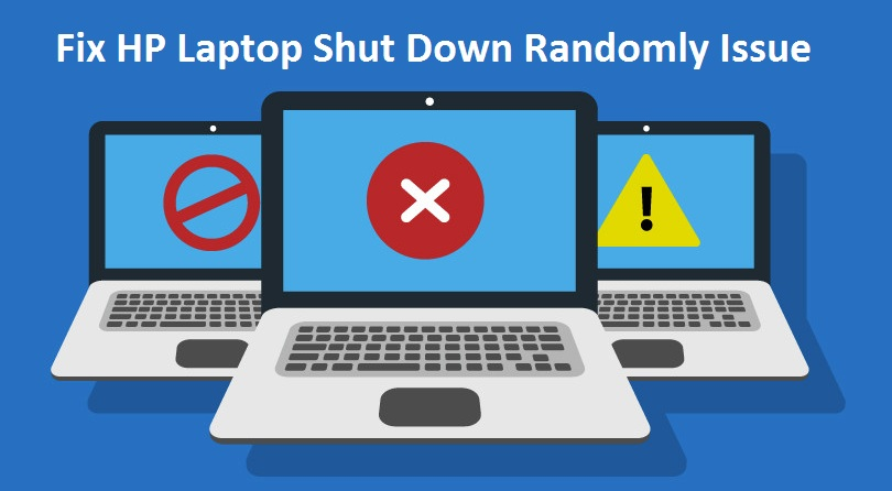 HP Laptop Random Shut down