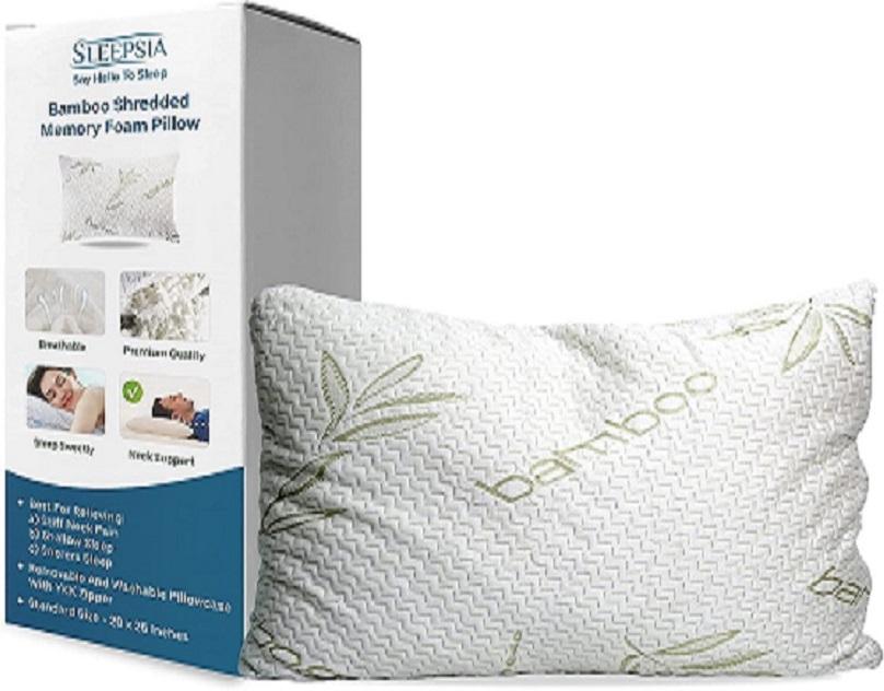 bamboo bed pillow