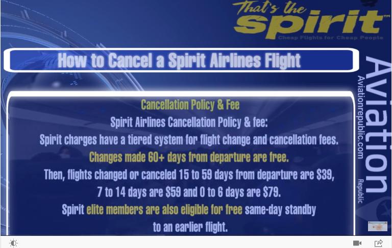 spirit-cancellation-policy
